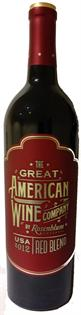 The Great American Wine Company Red Blend 2013 750ml